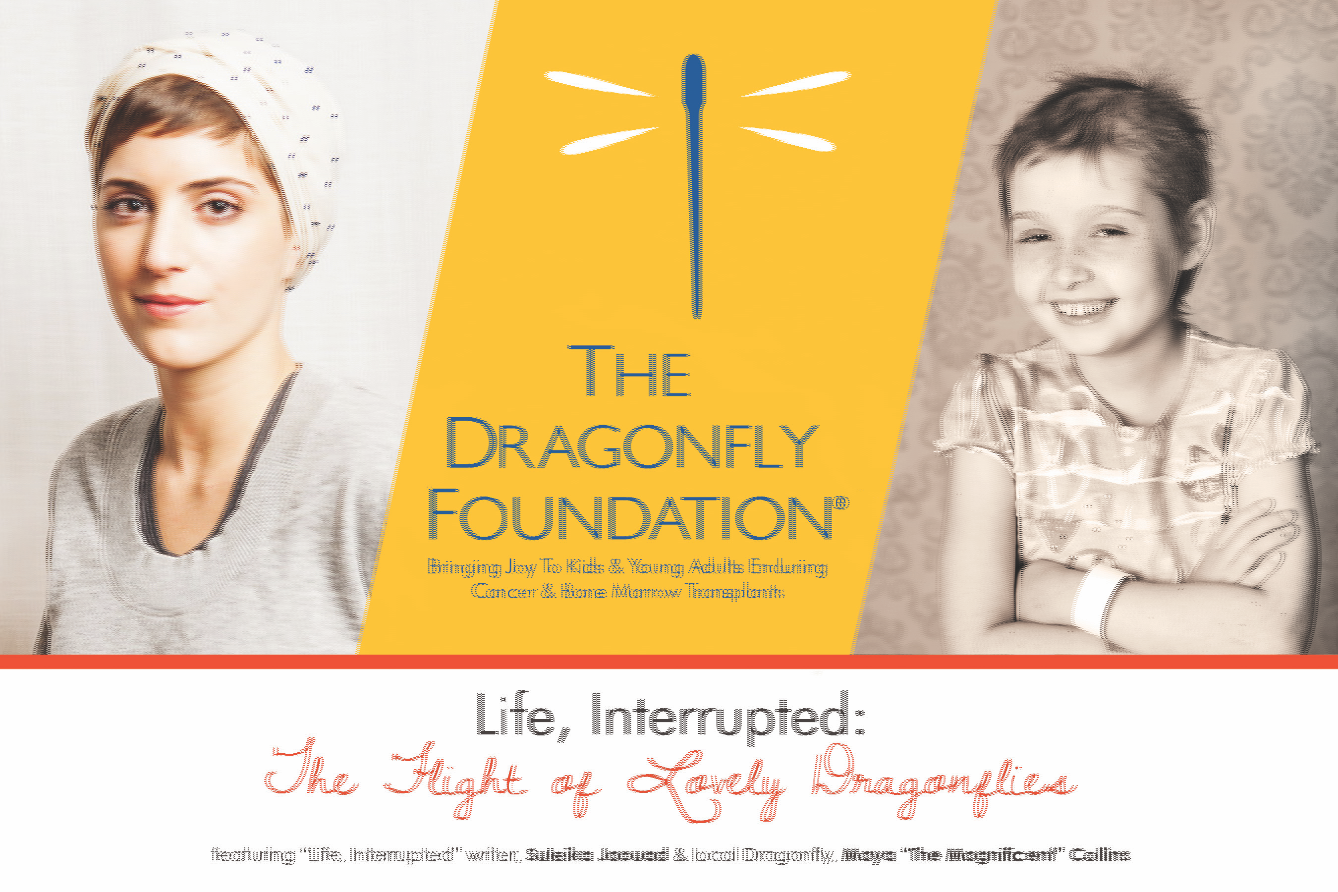 The Flight of Lovely Dragonflies